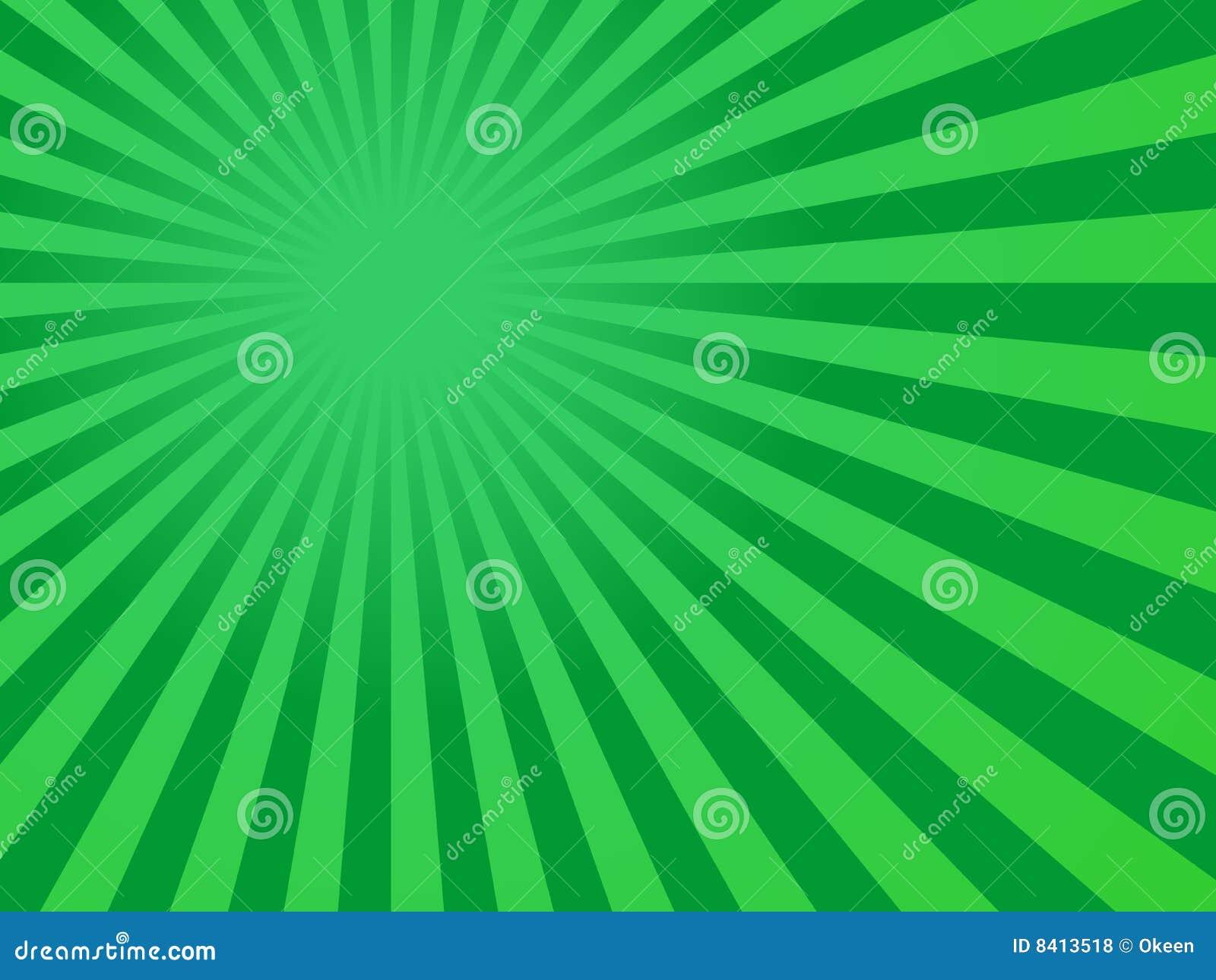 green rays background - photo #12