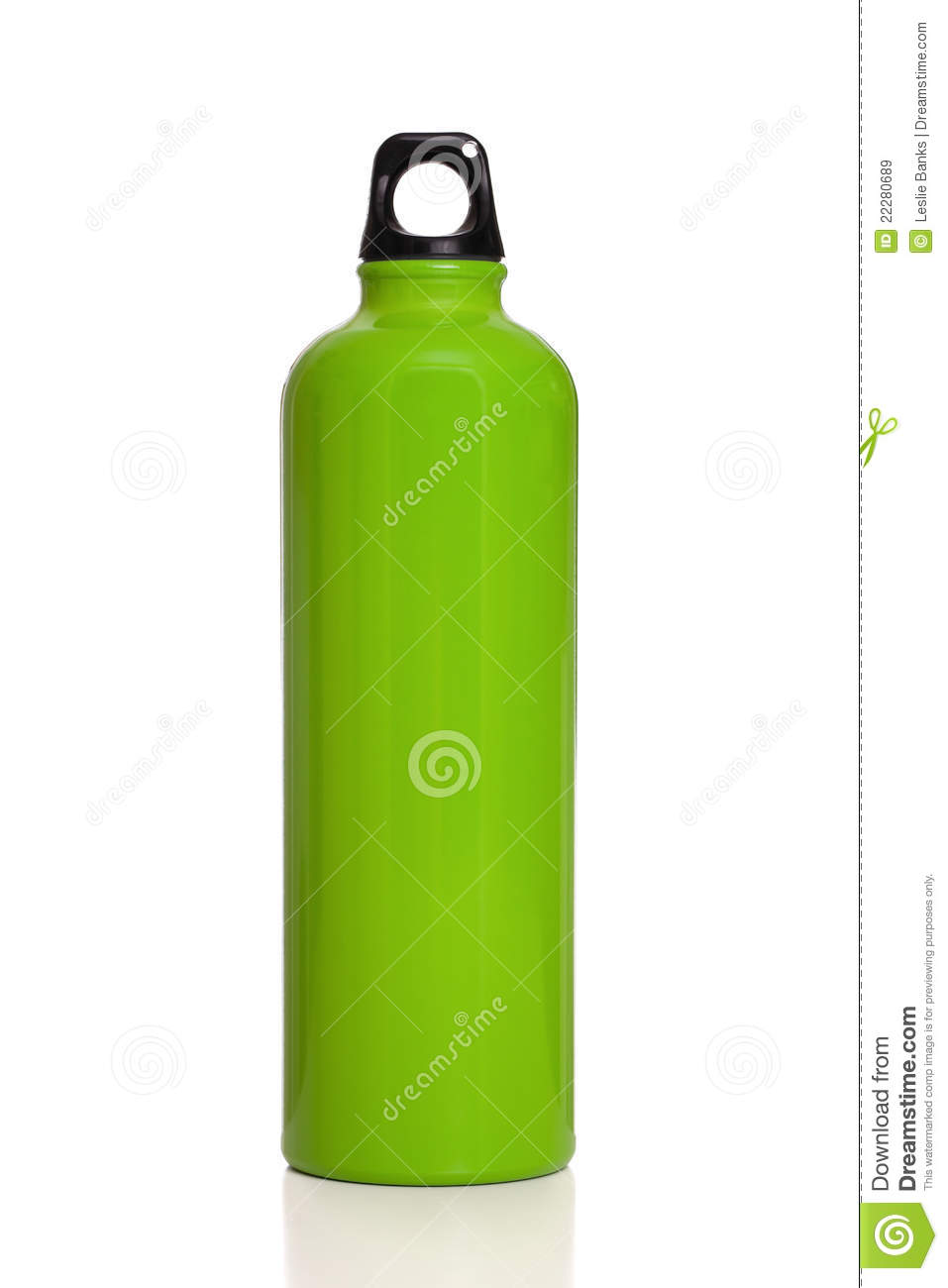 Green Reusable Water Bottle Isolated On White Royalty Free Stock ...: becuo.com/reusable-metal-water-bottles