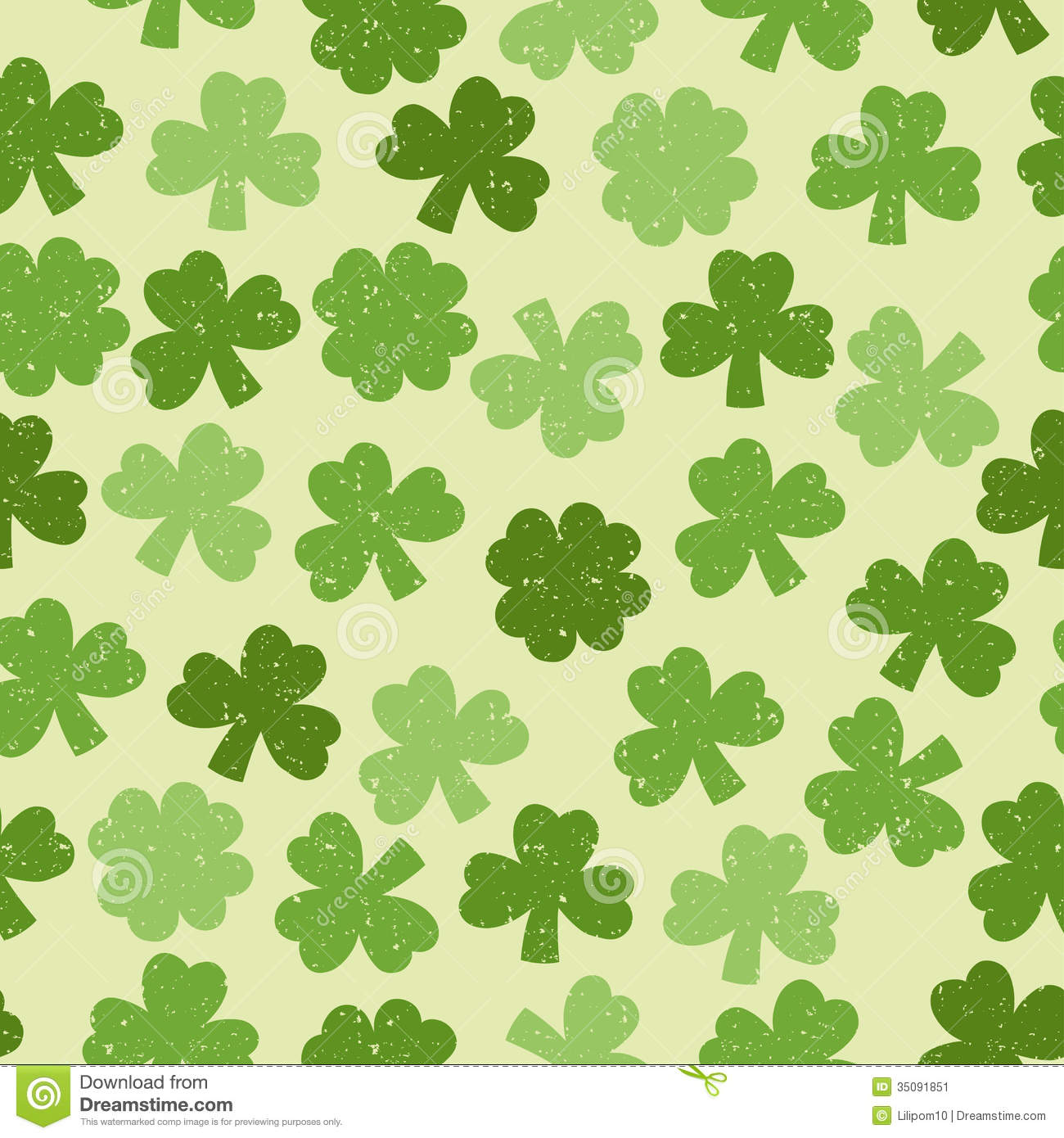 shamrock pattern wallpaper 1366x768 - photo #18