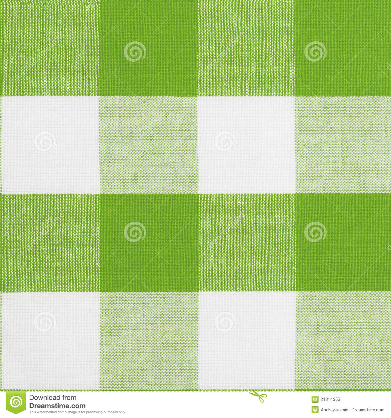 Royalty Free Stock Photo. Download Green Seamless Pattern Of Gingham  Tablecloth ...