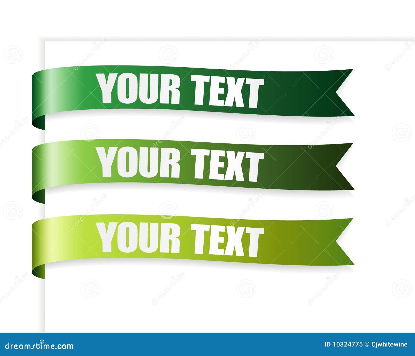 Green Series Ribbon