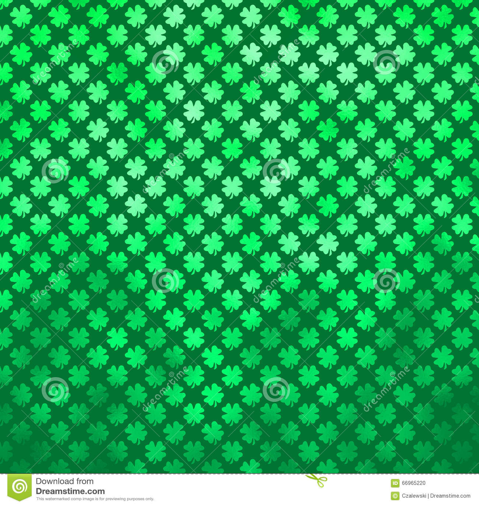 green shamrock four leaf clover st patrick u0027s day irish polka dot
