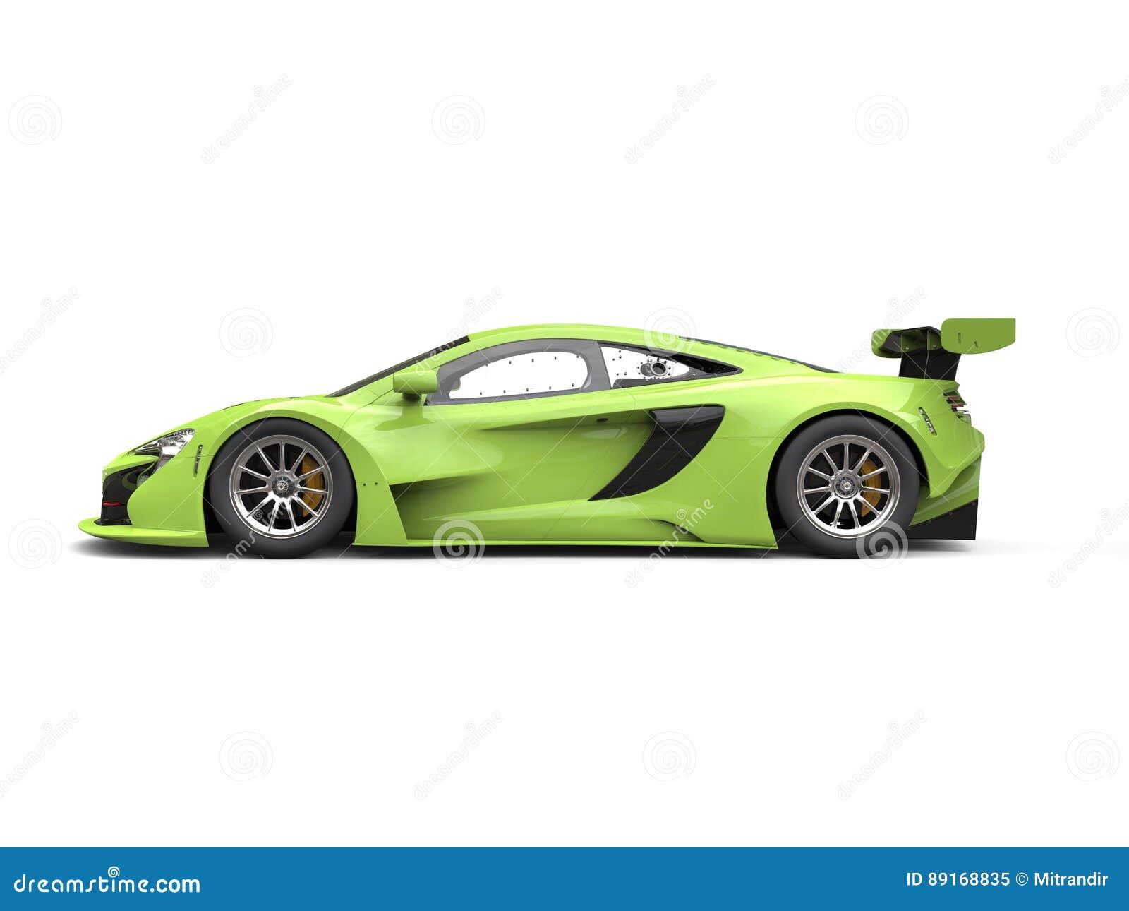 Green Shiny Modern Rac...