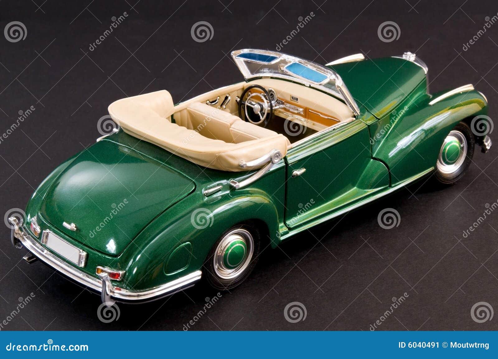 Green Sleek Classic Luxury Car