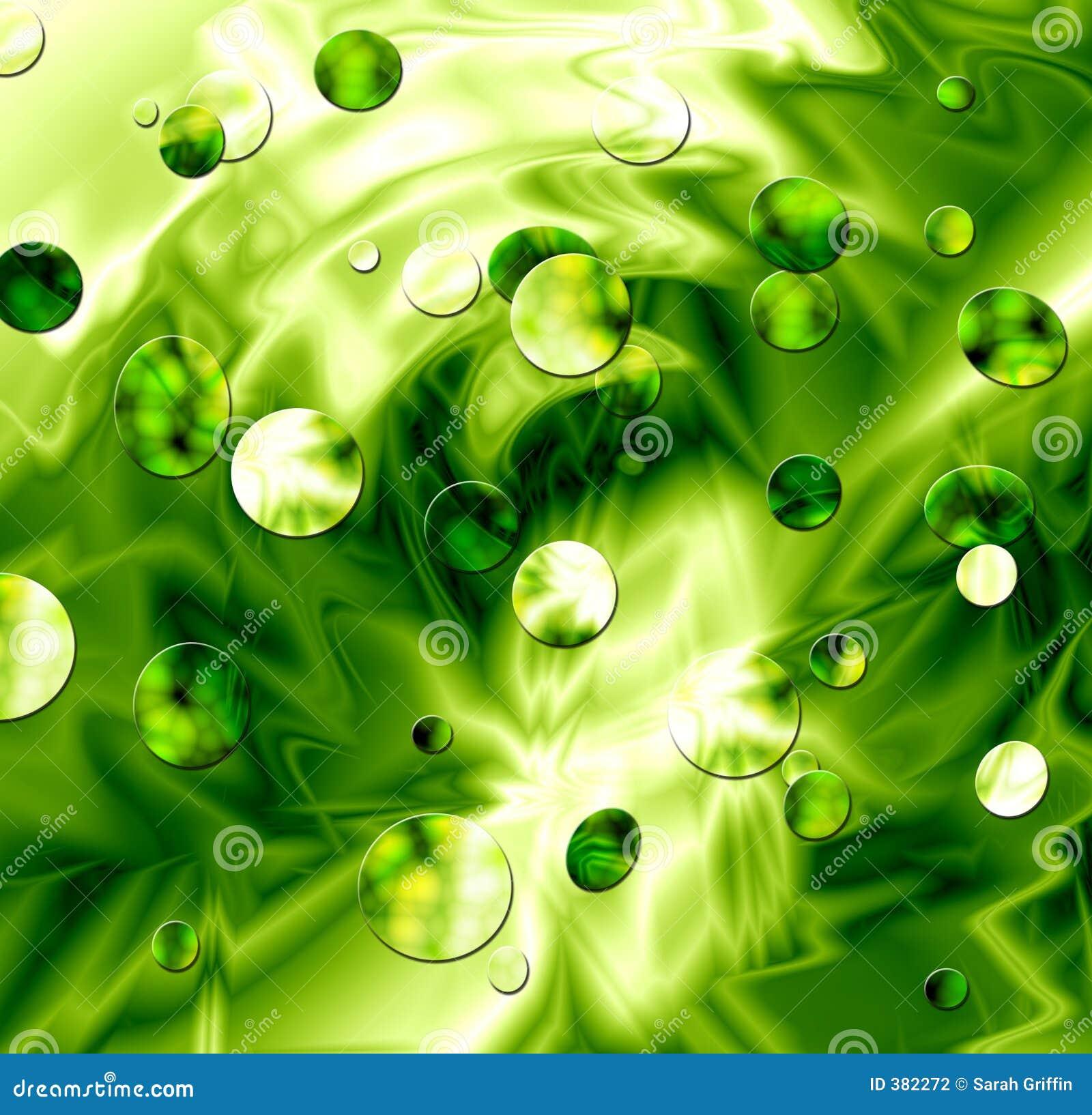 Green Slime Circles Texture Background Illustration. Tuxedo Shirt