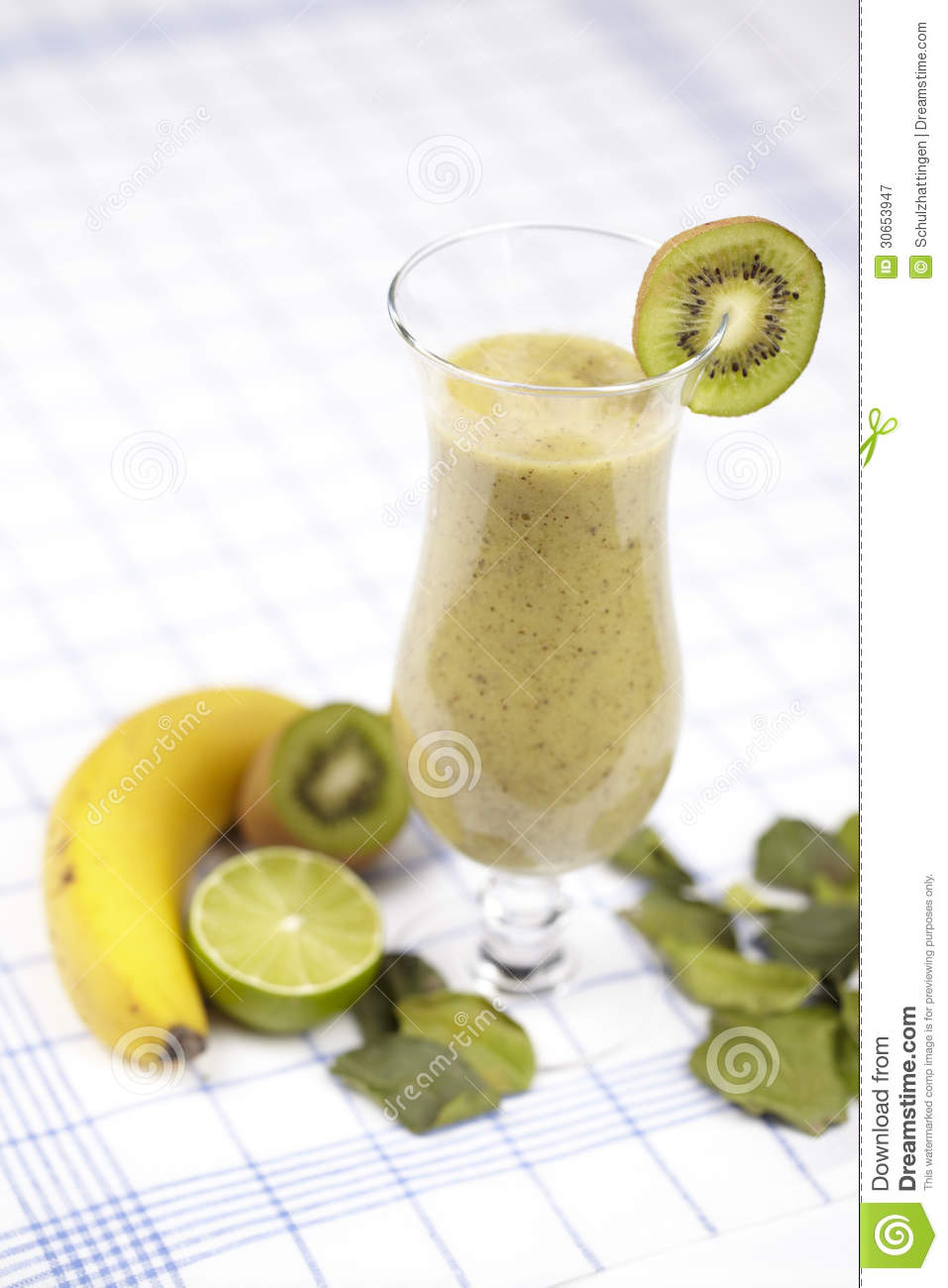 Green smoothie royalty free stock photography image for Decoration kiwi