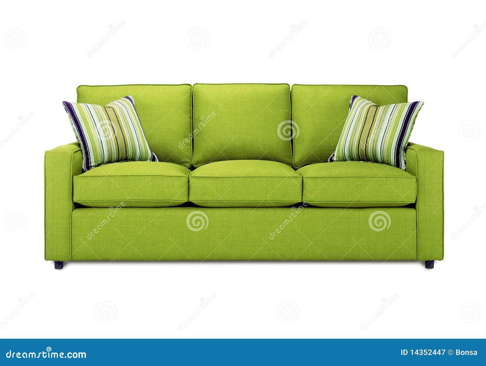 Green Sofa Stock Image Image Of Fabrics Creative