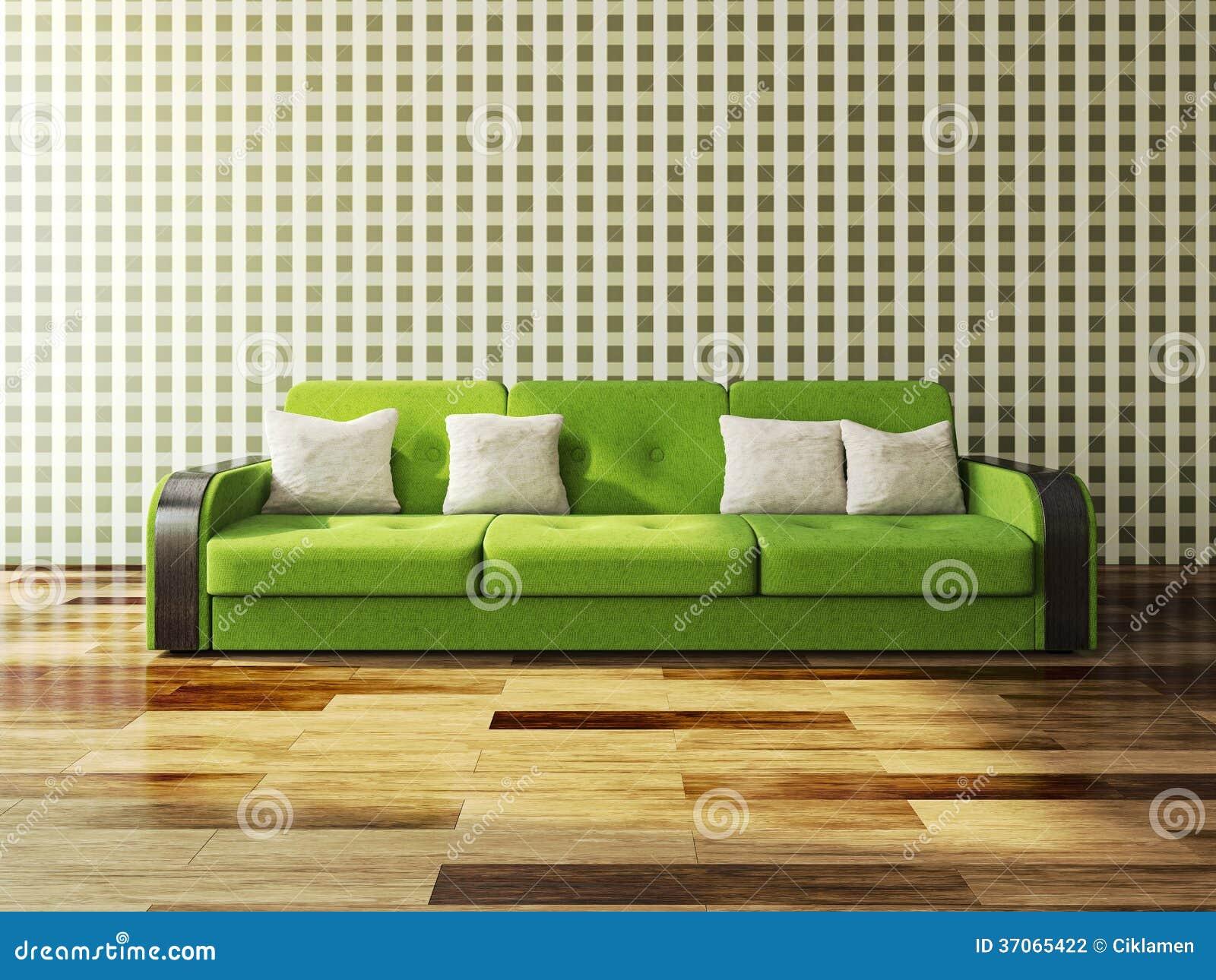 Green Sofa Stock Photography Image 37065422