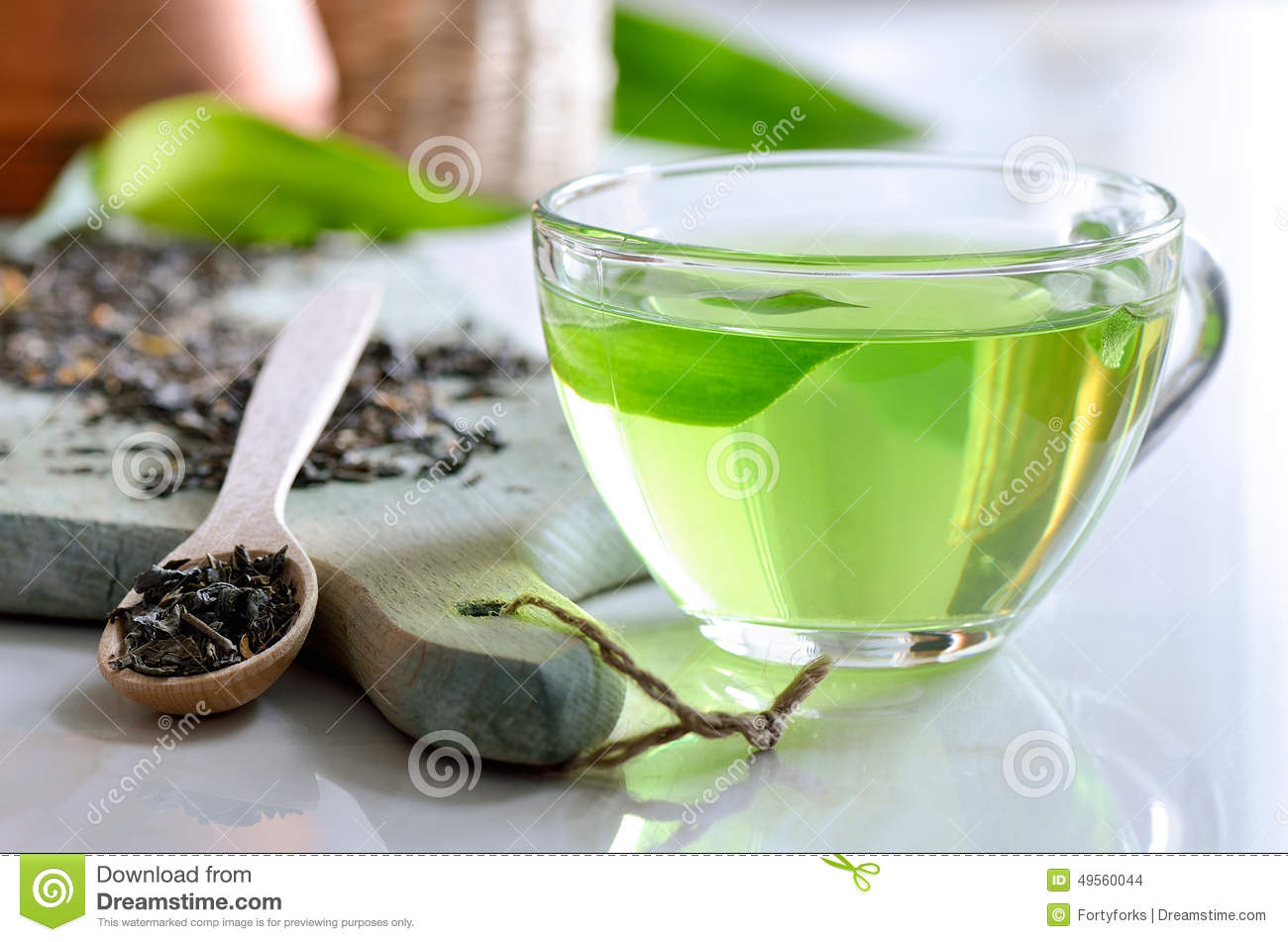 Green spa thee