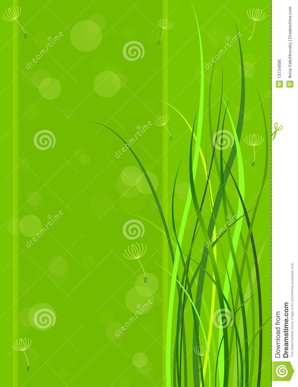 green spring background - photo #28