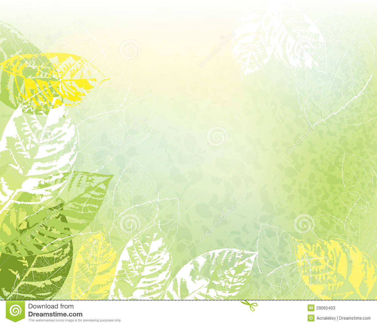 green spring background - photo #12