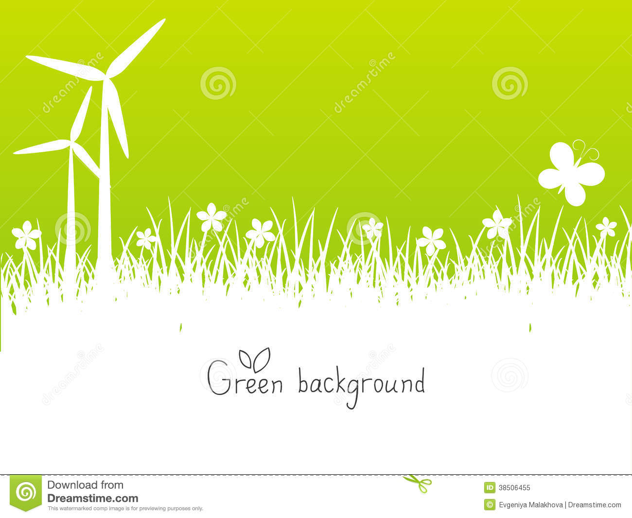 green spring background - photo #38