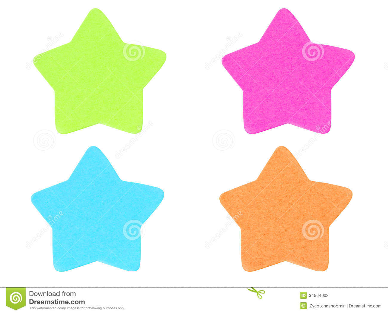 green star shape sticky note stock photo image of happy frame