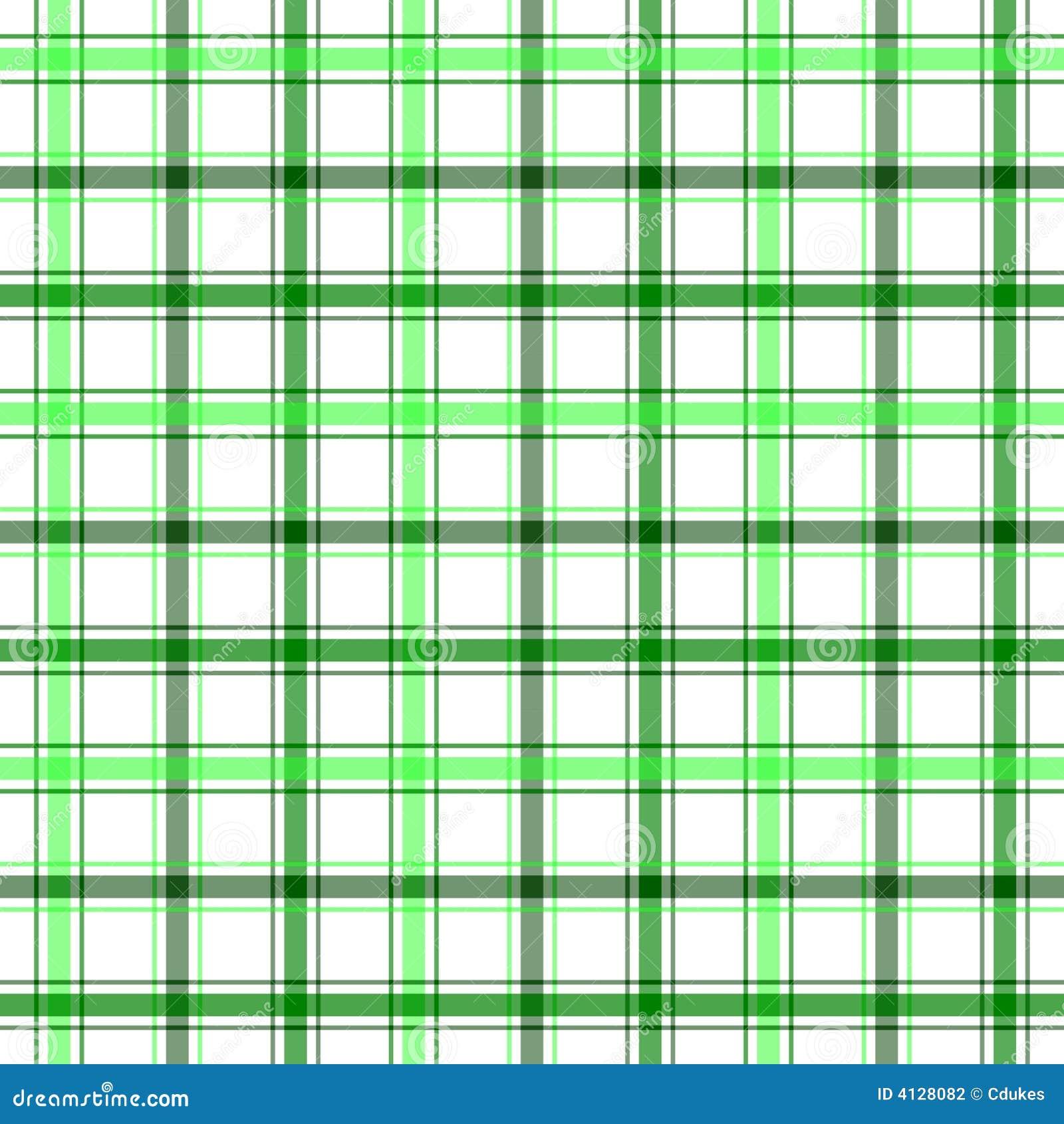 Green Stripe Plaid stock illustration  Illustration of fashion - 4128082