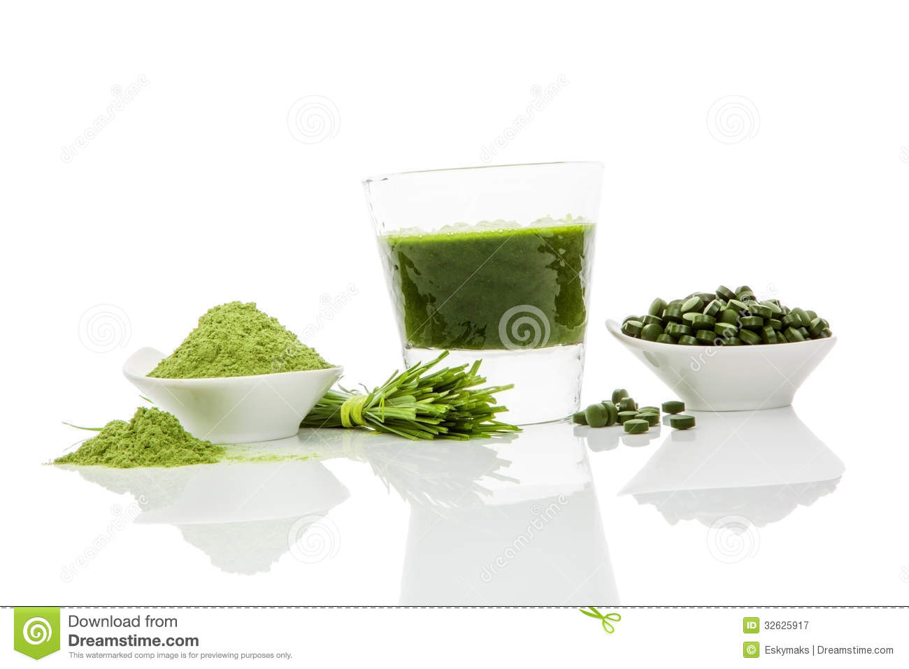 Green Superfood Royalty Free Stock Photography Image