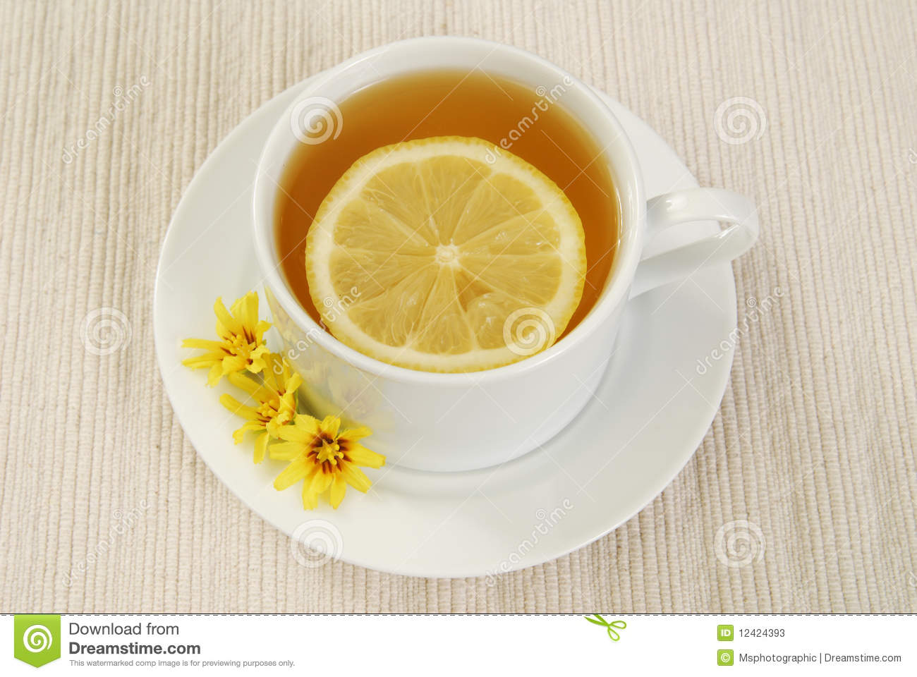 how to drink green tea with lemon