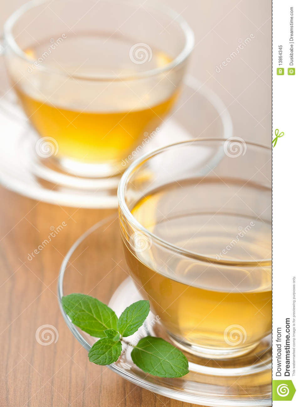 how to make mint tea with fresh mint leaves