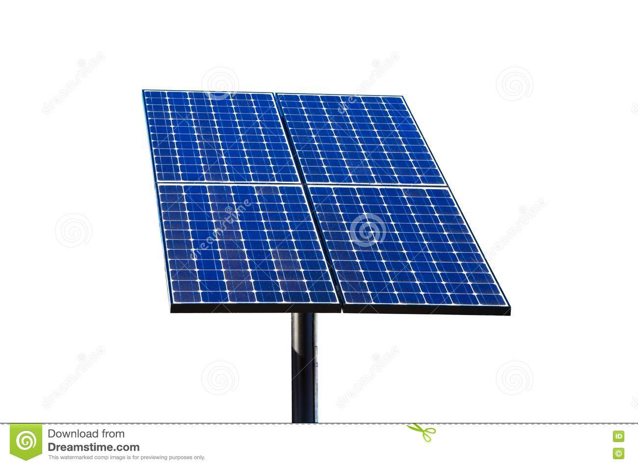 Green Technology, Solar Panels. Stock Images - Image: 20324404