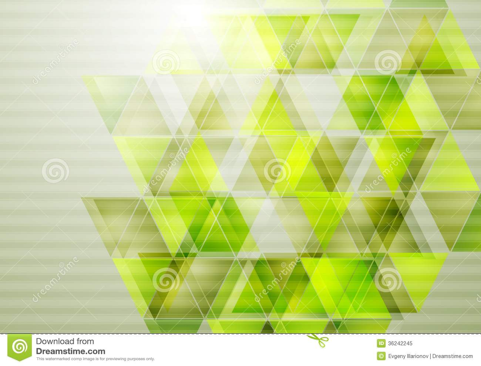 Free Vectors Vector Technology Background: Green Technology Vector Design Stock Vector