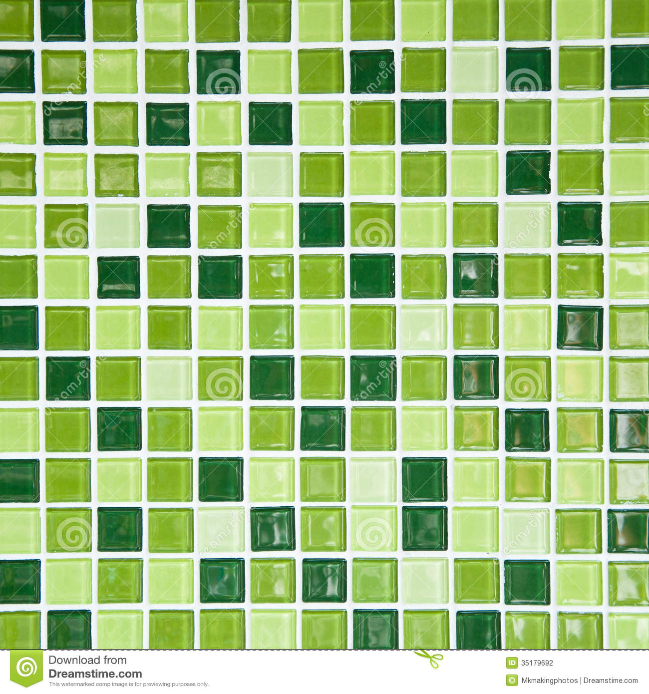 Green Tile Wall Stock Photo Image Of Bathroom