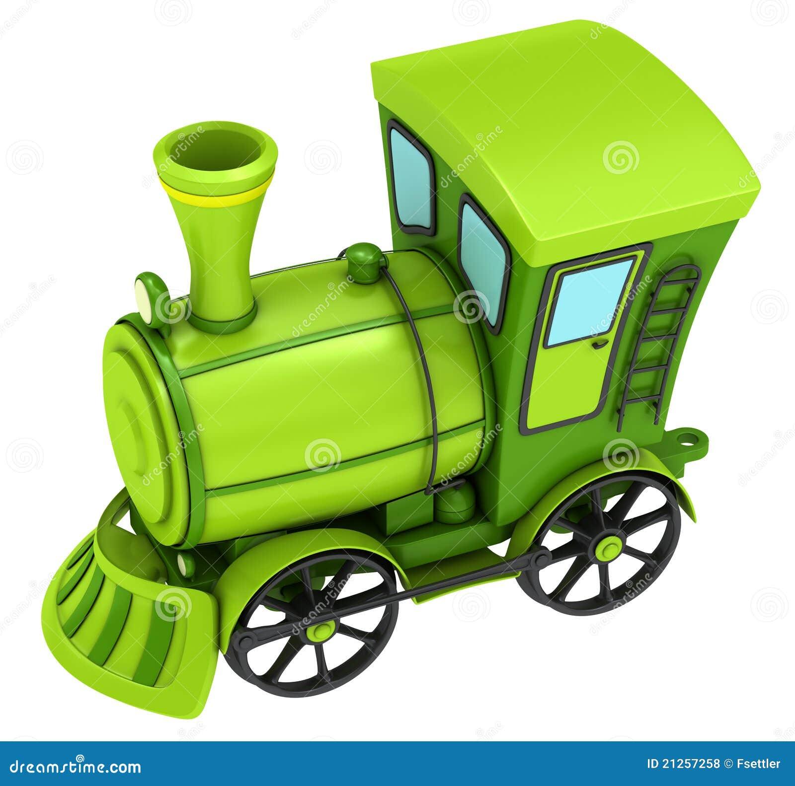 Green Toy Train Royalty Free Stock Photos - Image: 21257258