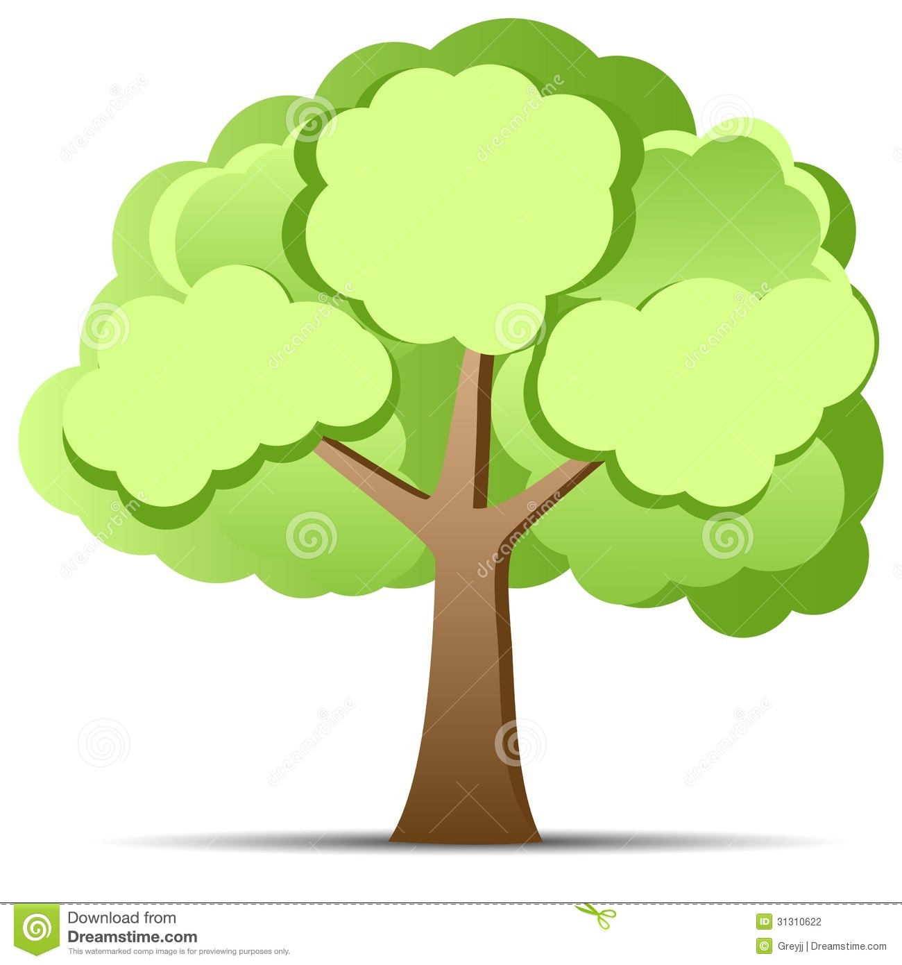 Green Tree Stock Photography - Image: 31310622