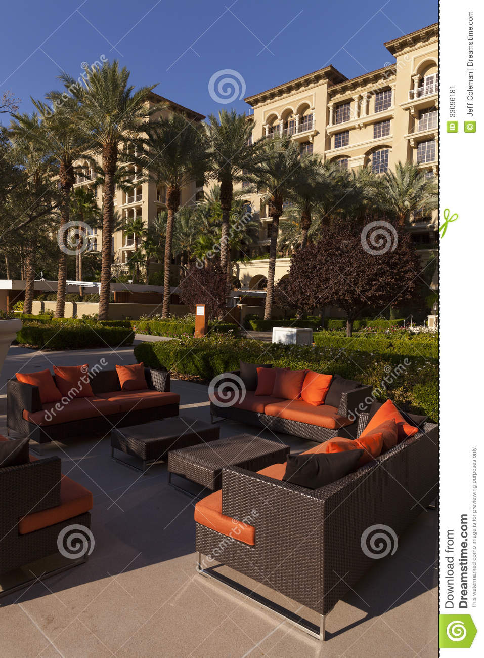 Green Valley Ranch Pool Lounge Area In Las Vegas Nv On