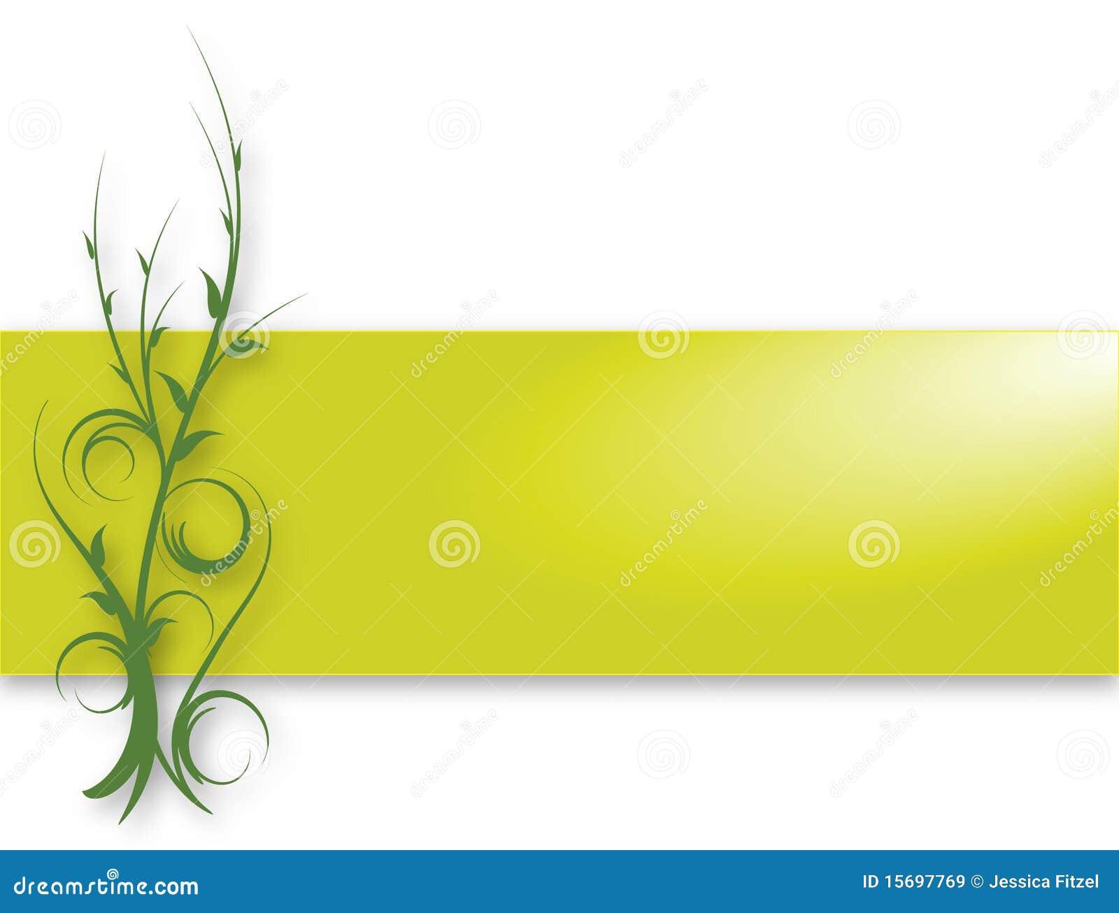 Green Vine Banner