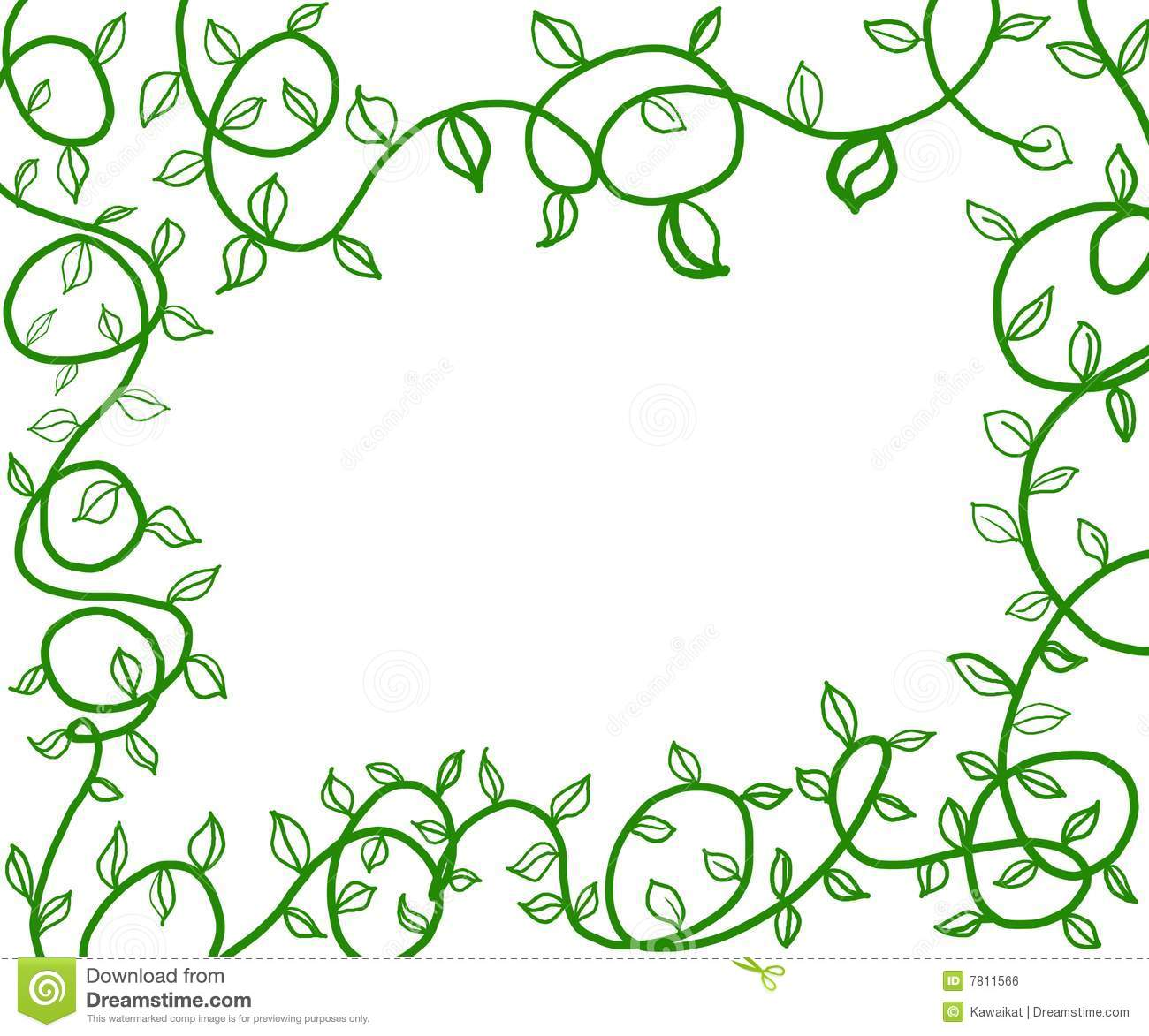Green vines stock illustration. Illustration of ...