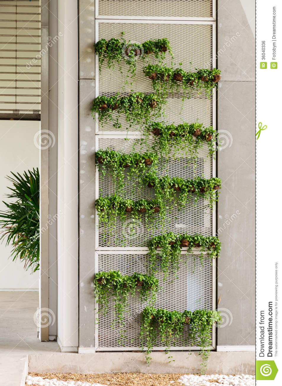 Royalty Free Stock Photo. Download Green Wall ...