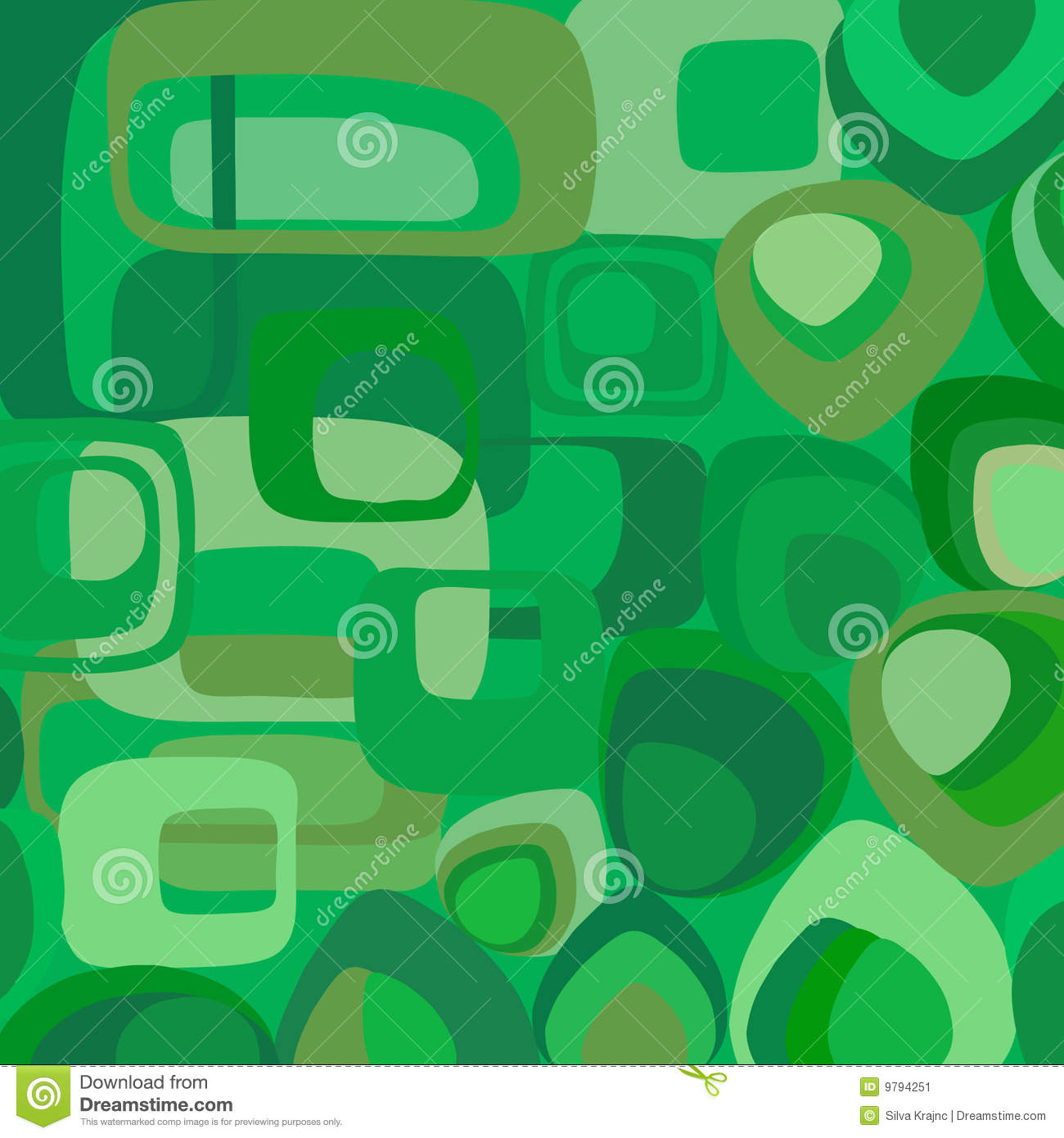 Green wallpaper in retro style stock image image 9794251 - Is wallpaper in style ...