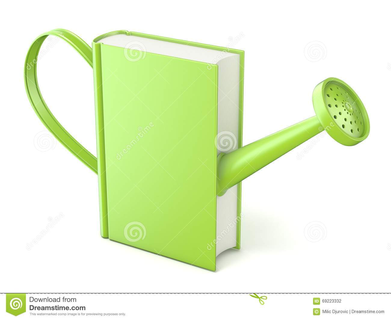 metal watering can stock illustration image 52278862