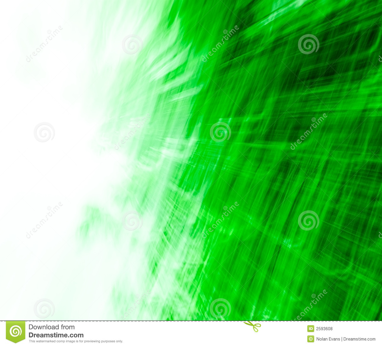 Green/White Abstract Texture 0 Stock Photo