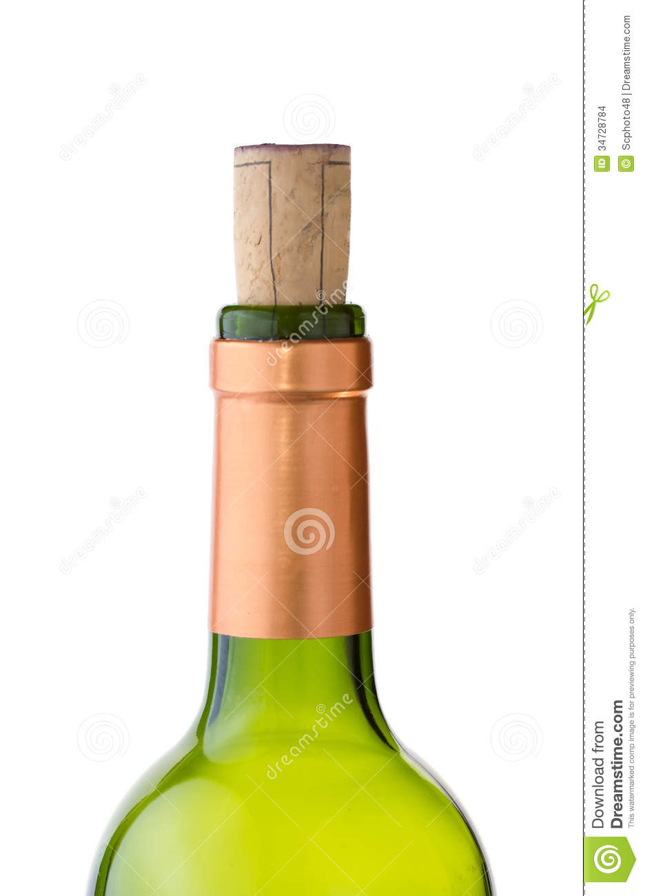 Green wine bottle with cork stock photo image 34728784 for What to do with a wine bottle