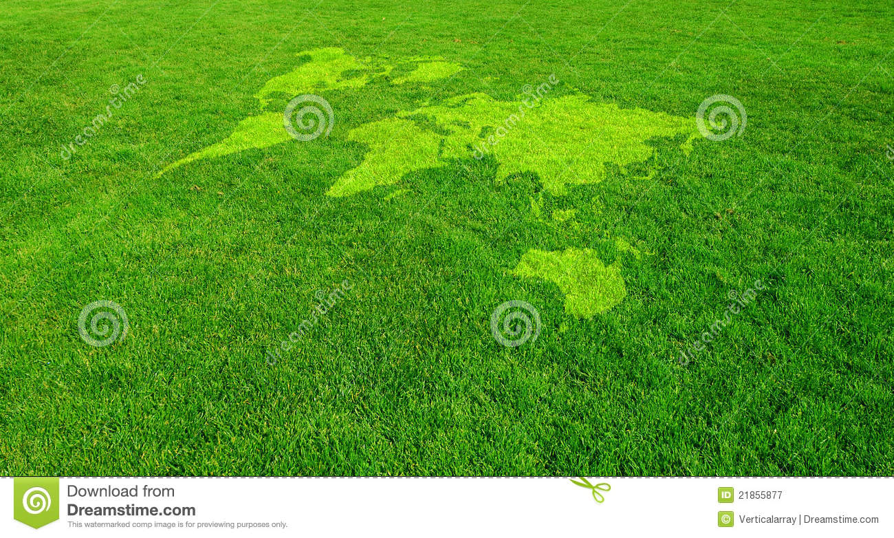 Green World Royalty Free Stock Photography Image 21855877
