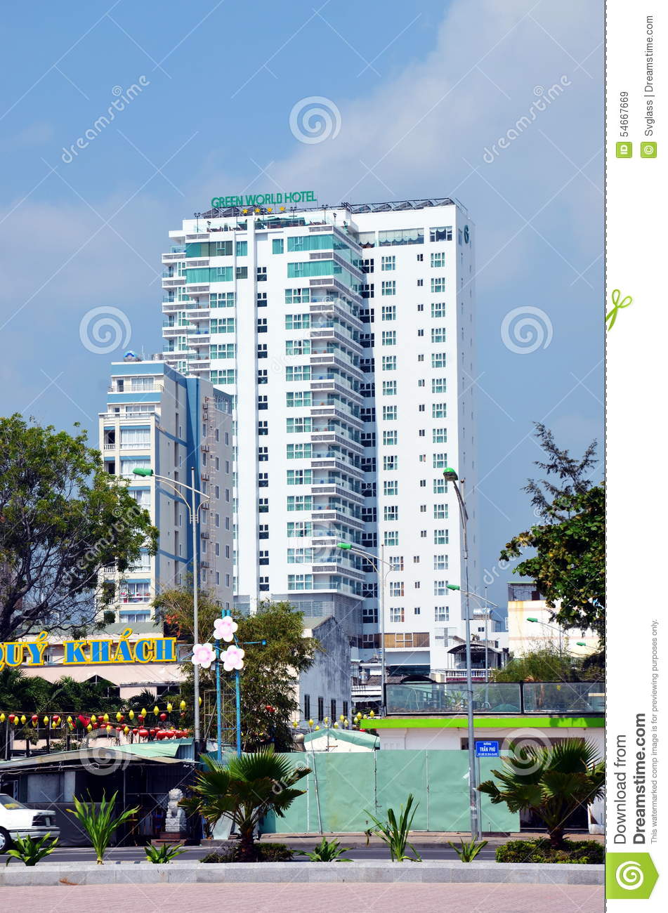 Green World Hotel Editorial Stock Image Image Of Asia 54667669