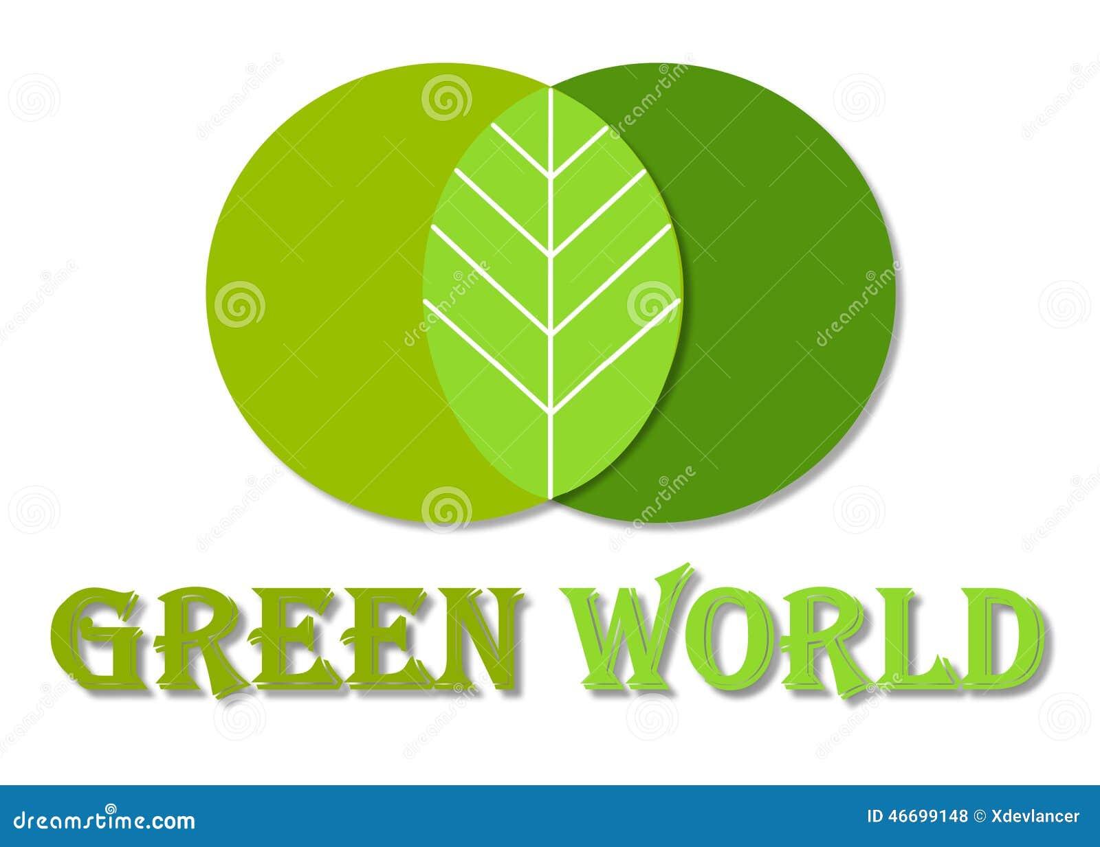 Green World Logo Stock Illustration Illustration Of Symbol 46699148