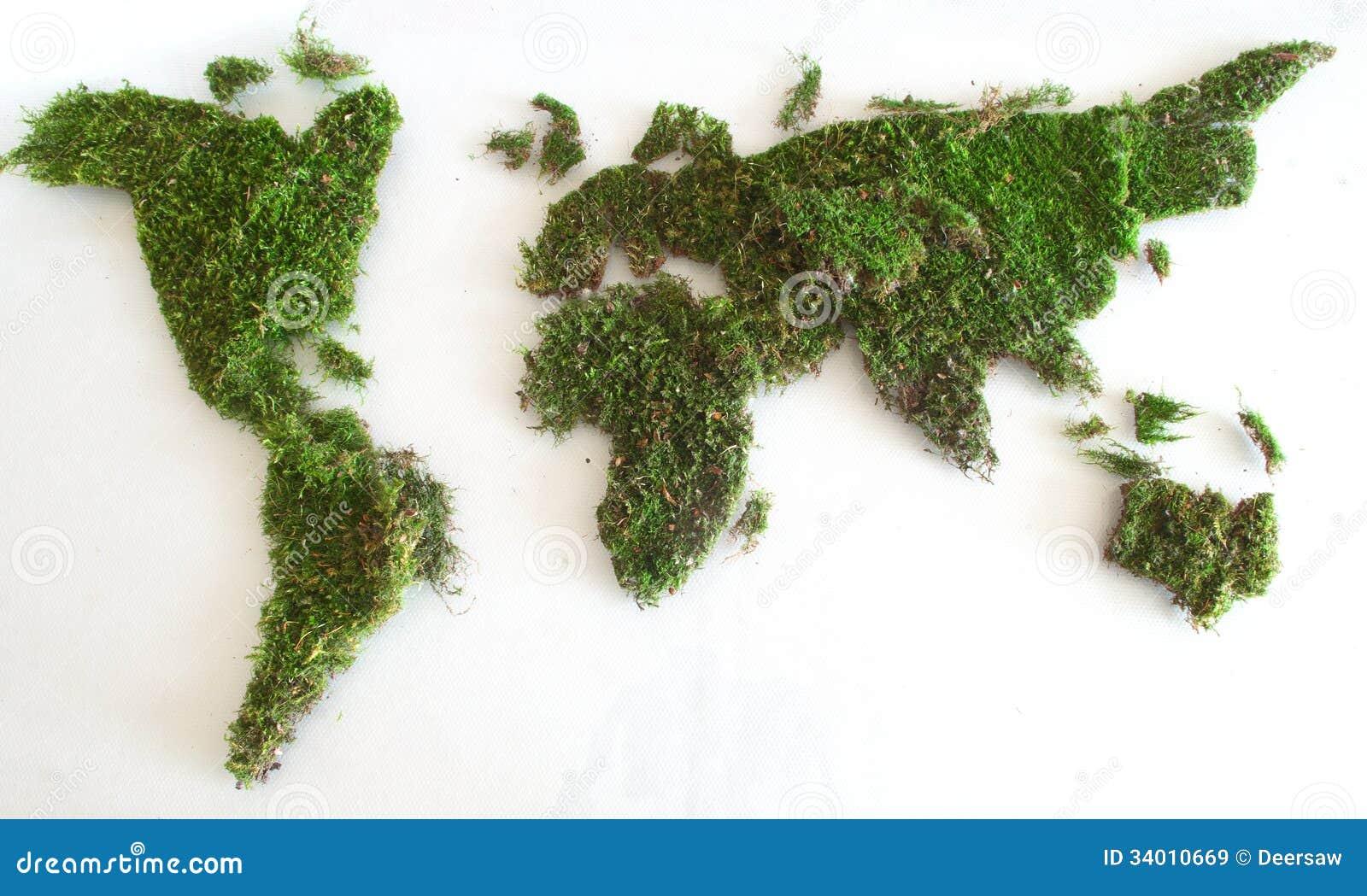 Green world map stock illustration illustration of graphic 29392928 green world map royalty free stock images gumiabroncs Images
