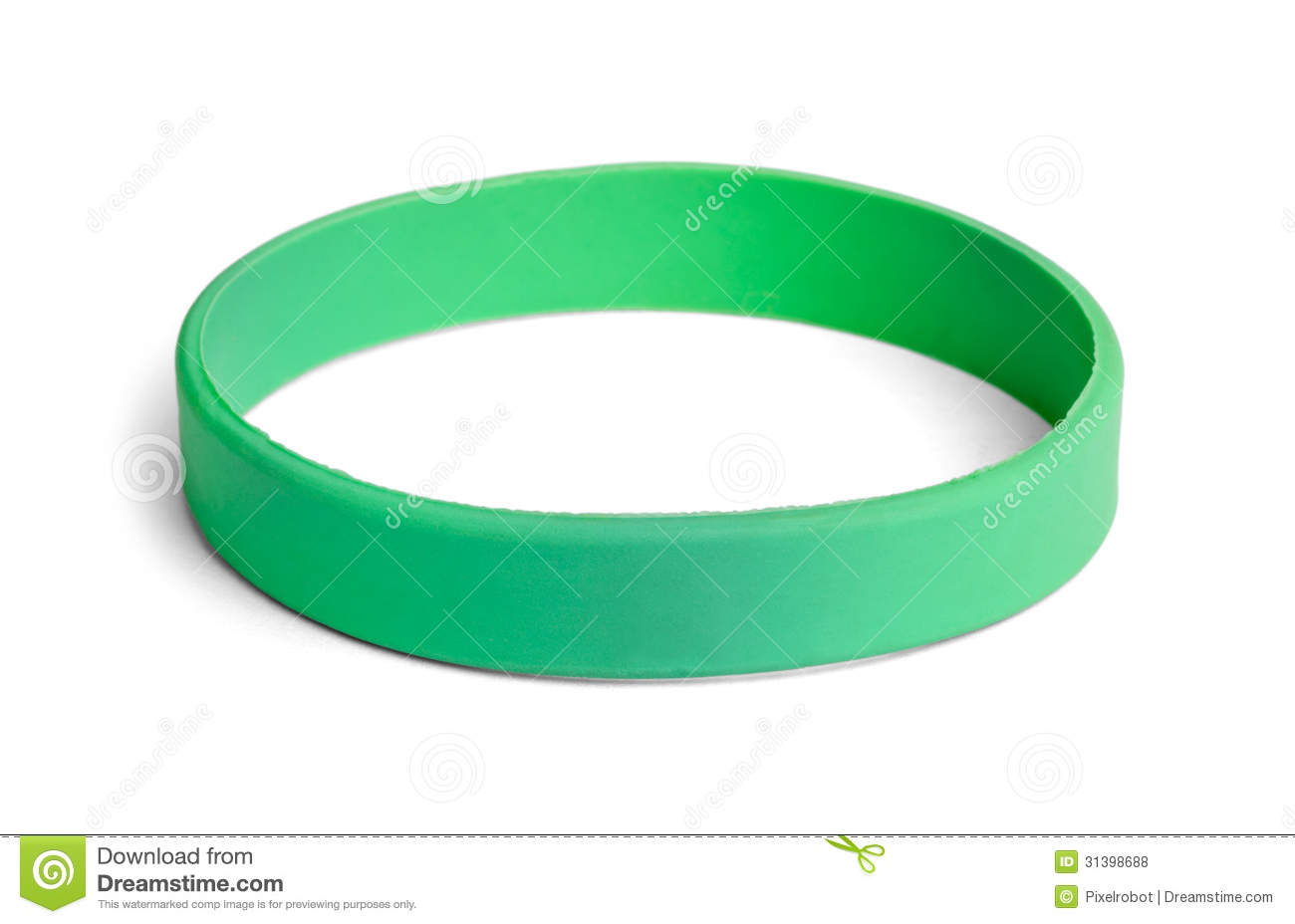 Green Wristband Royalty Free Stock Photos Image 31398688
