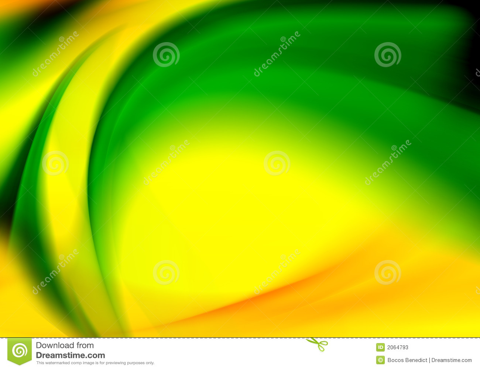 abstract yellow green drawing - photo #18