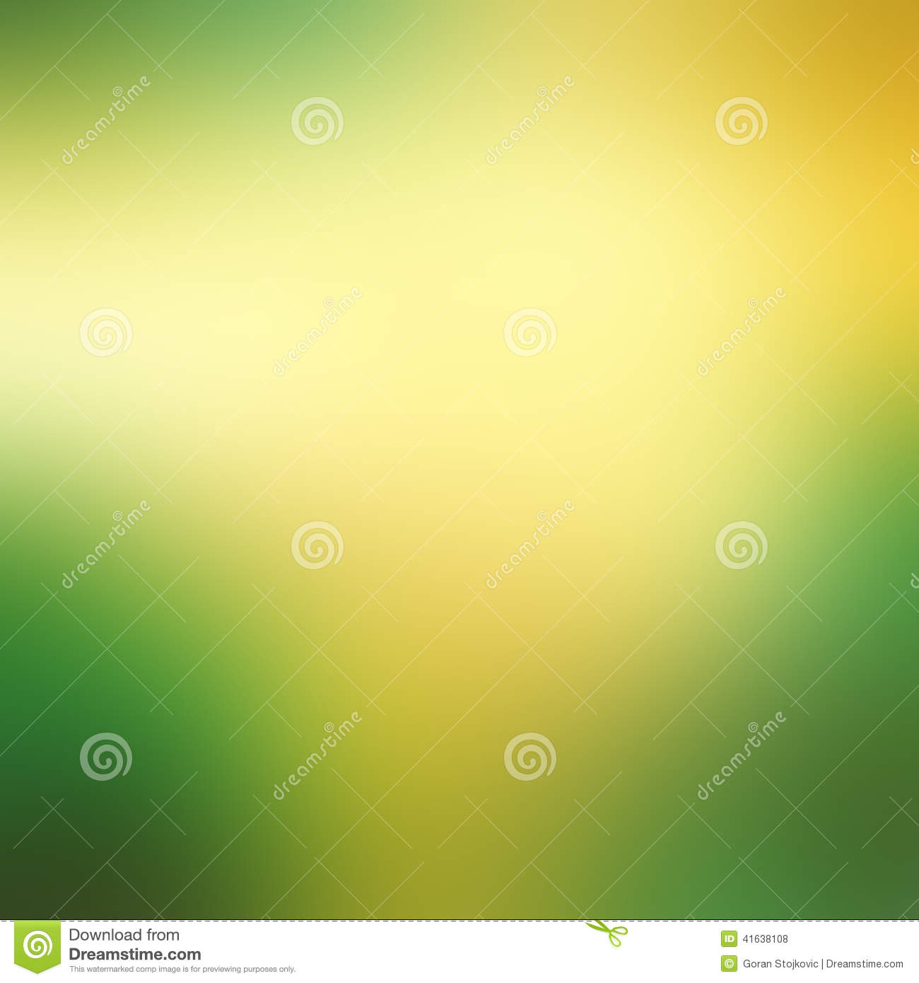 Green And Yellow Abstract Background Stock Illustration ...