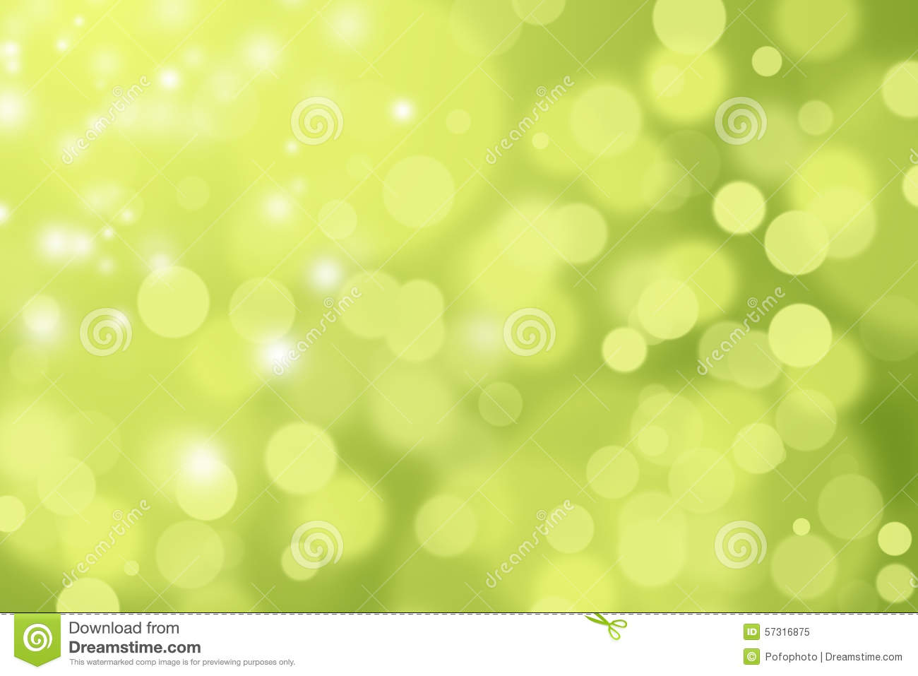 GREEN AND YELLOW DEFOCUSED BOKEH ABSTRACT BACKGROUND Stock ...
