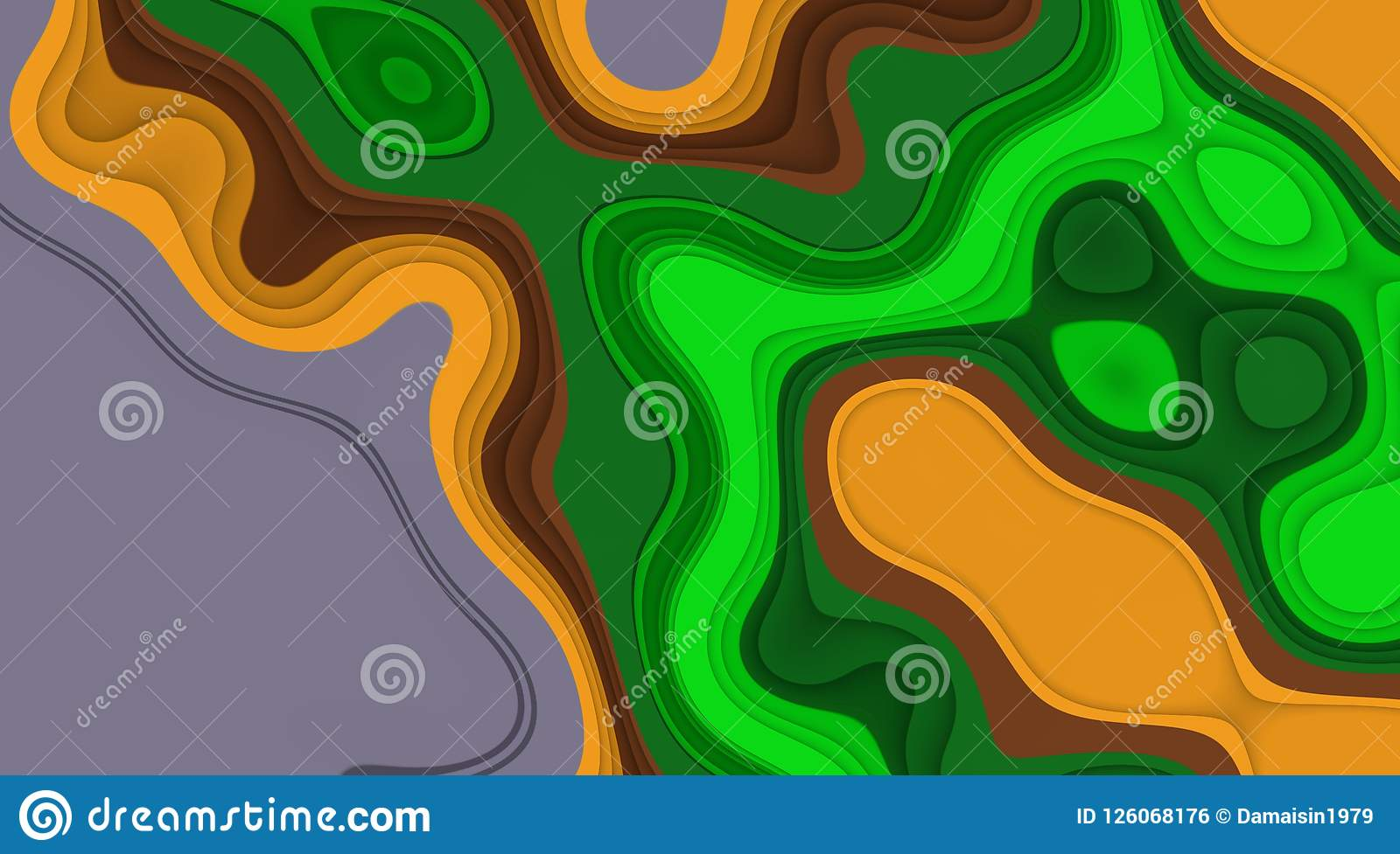 Green Yellow Fluid Vivid Lines Background, Soft Mix Contrasts, Lines ...