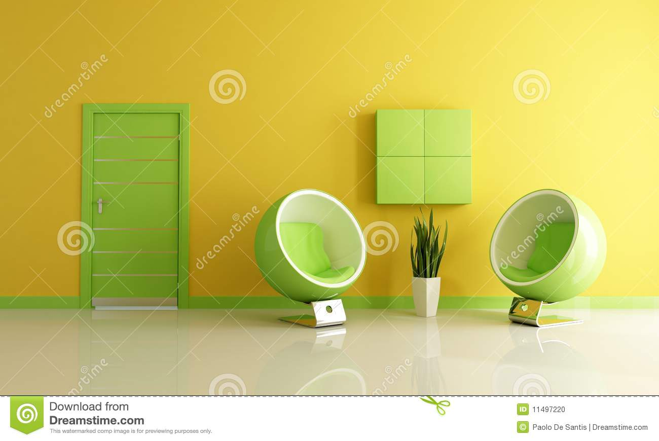 Green and yellow living room - Green And Yellow Living Room