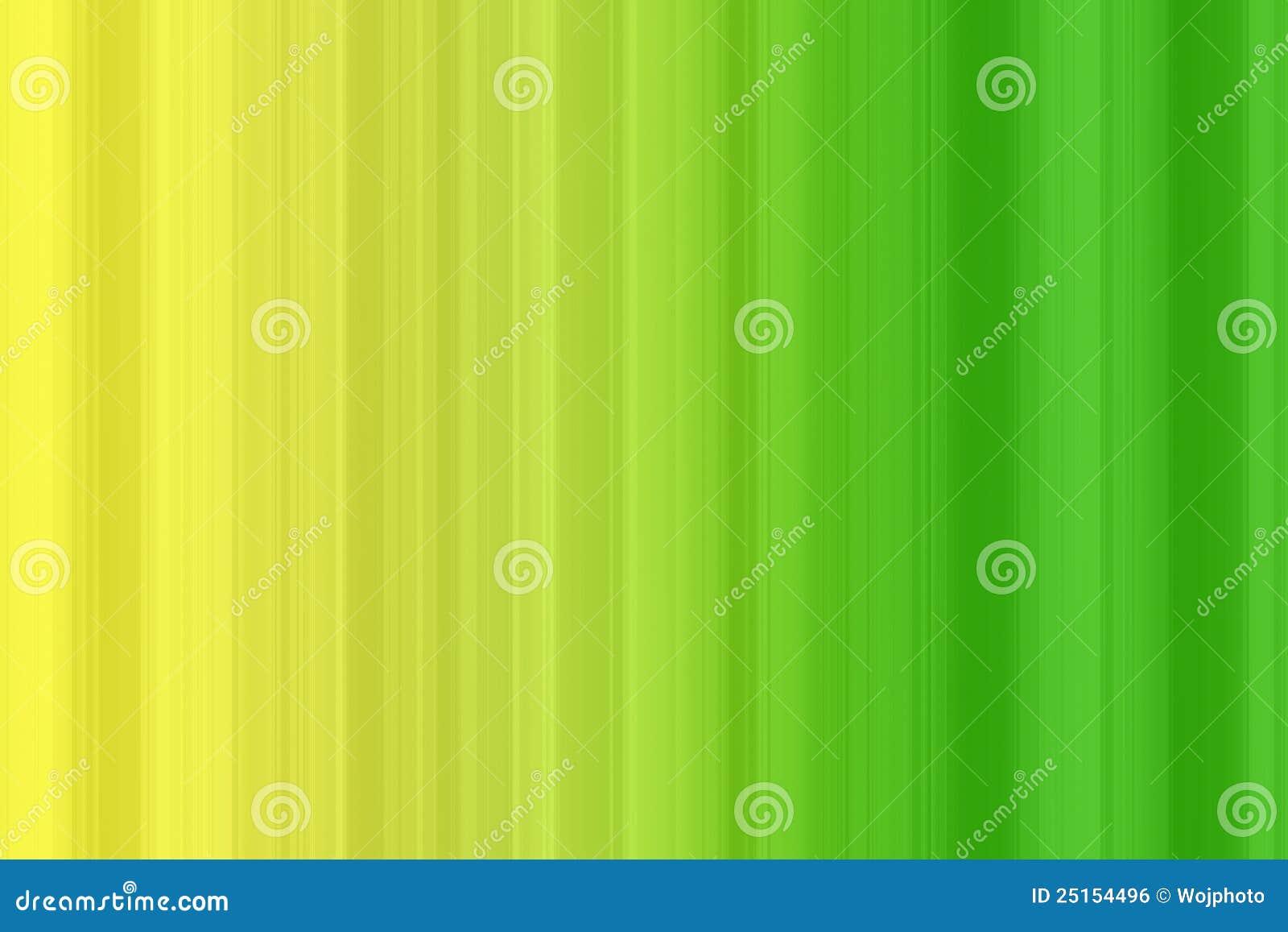 Green And Yellow Spectrum Bars Stock Illustration