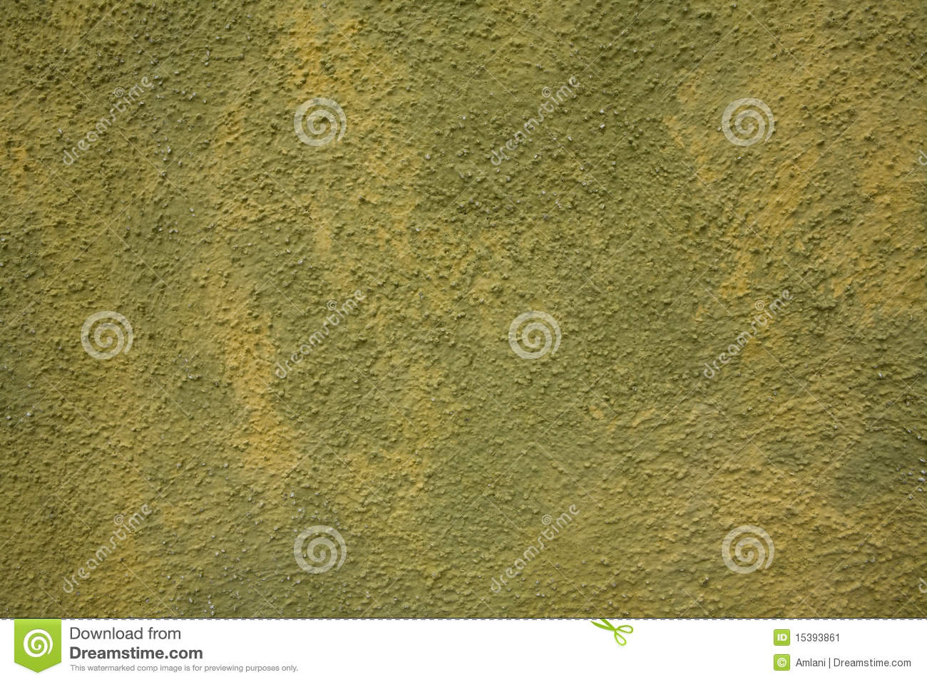 Download Green and yellow wall stock image. Image of facade, copy - 15393861