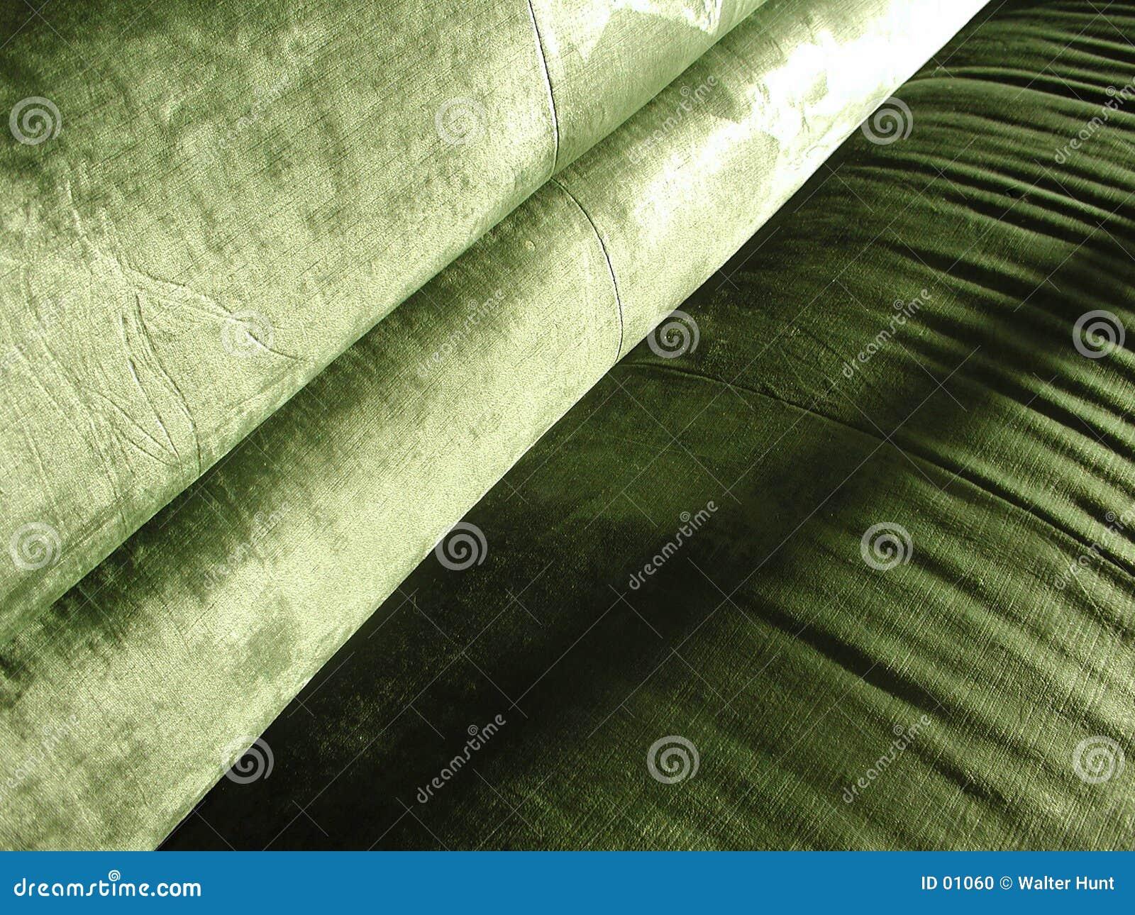 Green zgnieciony