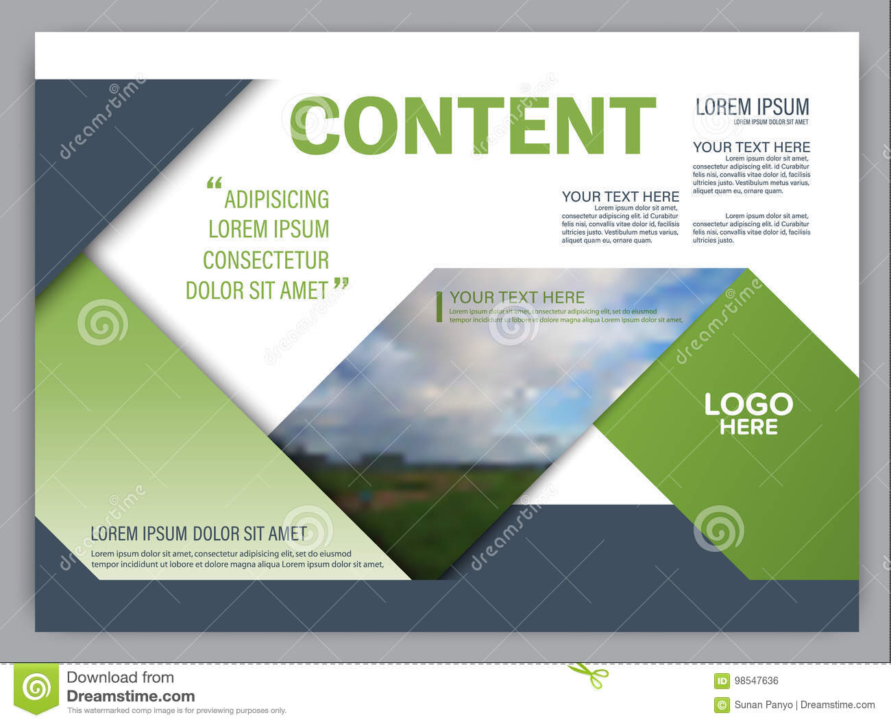 Greenery presentation layout design template annual report cover greenery presentation layout design template annual report cover page maxwellsz