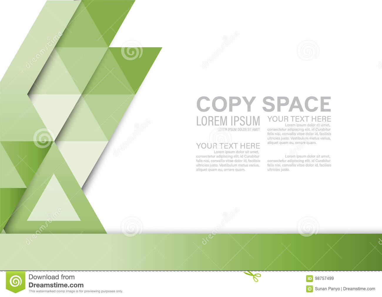 Greenery Presentation Layout Design Template Annual Report Cover - Presentation cover page template