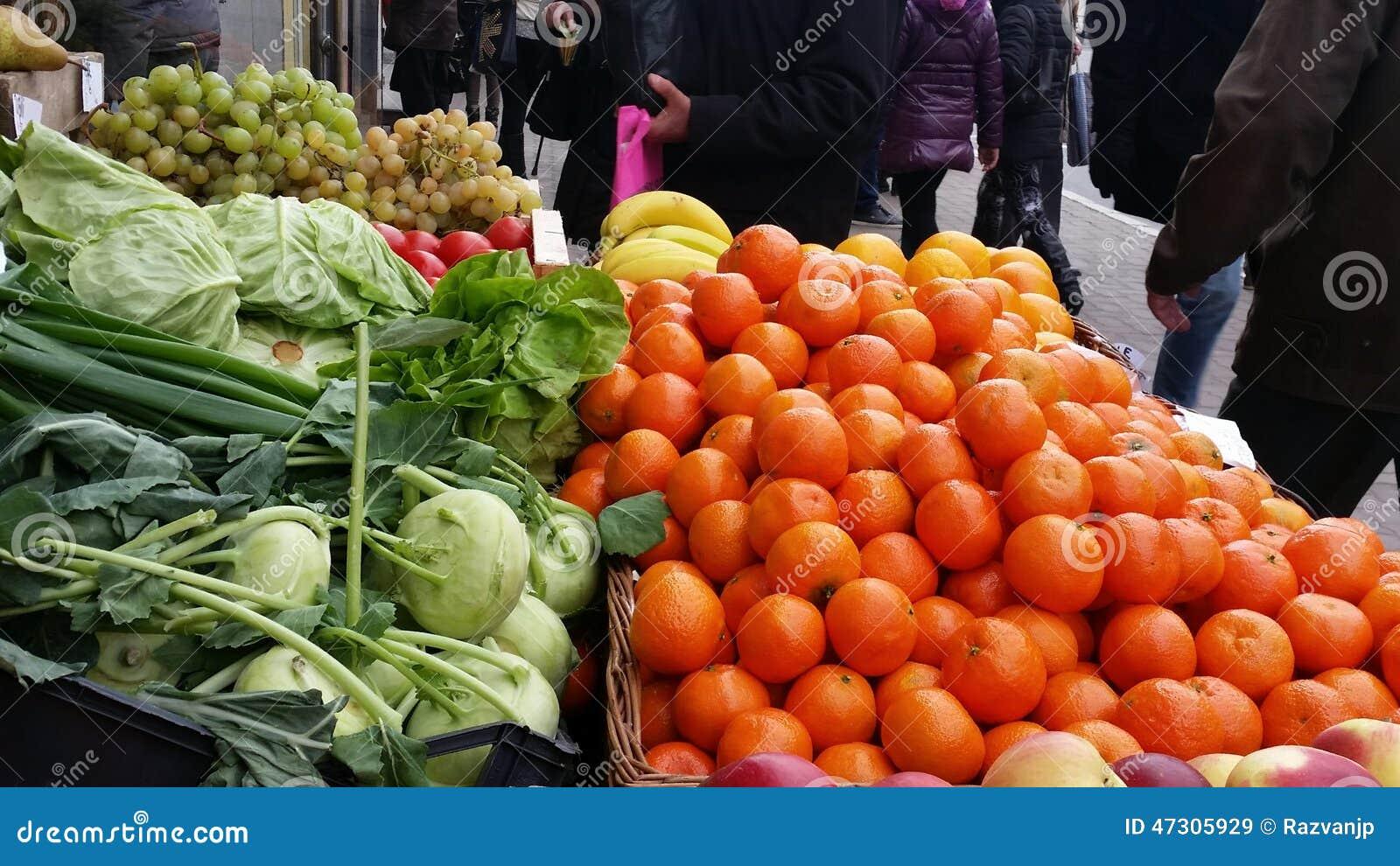 Greengrocery в улице города